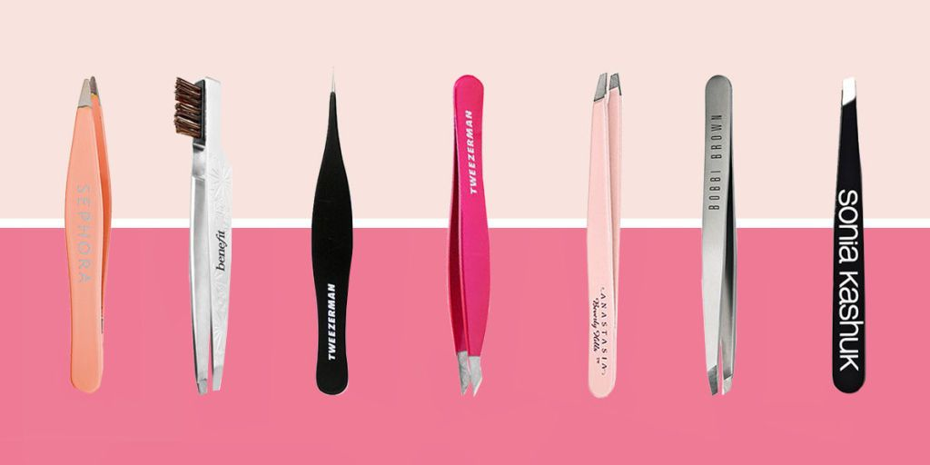 7 Best Tweezers for Eyebrows in 2018 - Pointed and Slanted ...