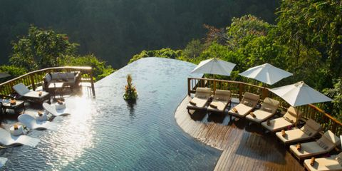 Hanging Gardens Of Bali infinity pool
