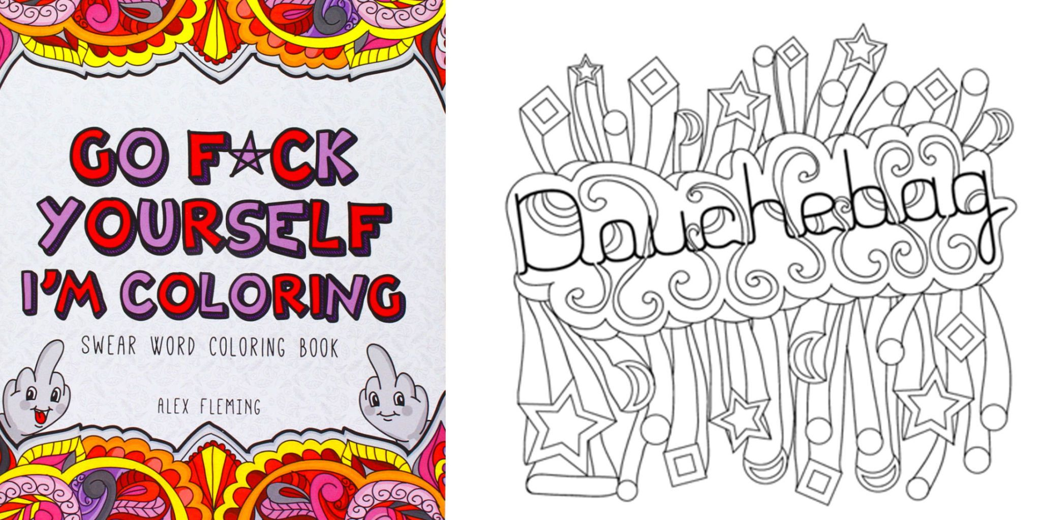 - Swear Word Adult Color Book - Adult Coloring Book With Curse Words