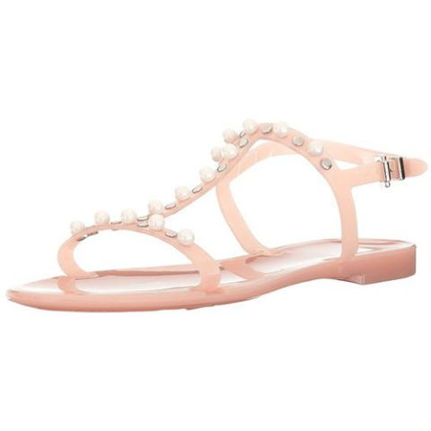 lk bennett freja pink jelly sandals