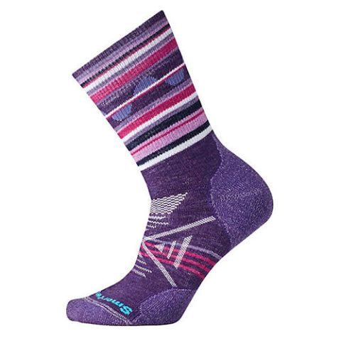 Smartwool PhD Outdoor Medium Pattern Crew Socks (Women's)