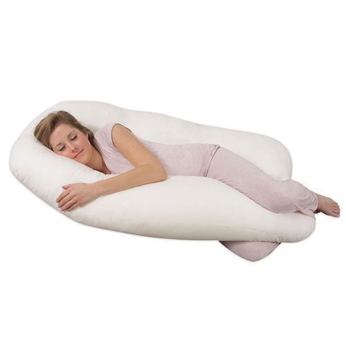 """<p><strong data-redactor-tag=""""strong"""" data-verified=""""redactor""""><em data-redactor-tag=""""em"""" data-verified=""""redactor"""">Leachco Back N' Belly Contoured Body Pillow<br>$64</em></strong> <a href=""""https://www.amazon.com/Leachco-Belly-Contoured-Pillow-Ivory/dp/B0002E7DIQ/?tag=bp_links-20"""" target=""""_blank"""" class=""""slide-buy--button"""" data-tracking-id=""""recirc-text-link"""">BUY NOW</a></p><p>Life hack — use pregnancy pillows all thetime because they are so fucking comfy, but especially when you're on your period and feel like death.</p><p><strong data-redactor-tag=""""strong"""" data-verified=""""redactor"""">More:</strong><a href=""""http://www.bestproducts.com/home/decor/g169/best-pillows-for-sleeping/"""" target=""""_blank"""" data-tracking-id=""""recirc-text-link"""">20 Bed Pillows That'll Bring You So Much Comfort</a><br></p>"""
