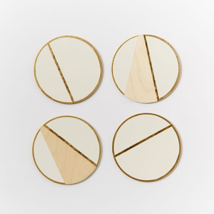 West Elm Vintage Vogue Linea Coasters