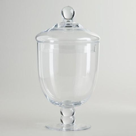 World Market Small Round Apothecary Jar