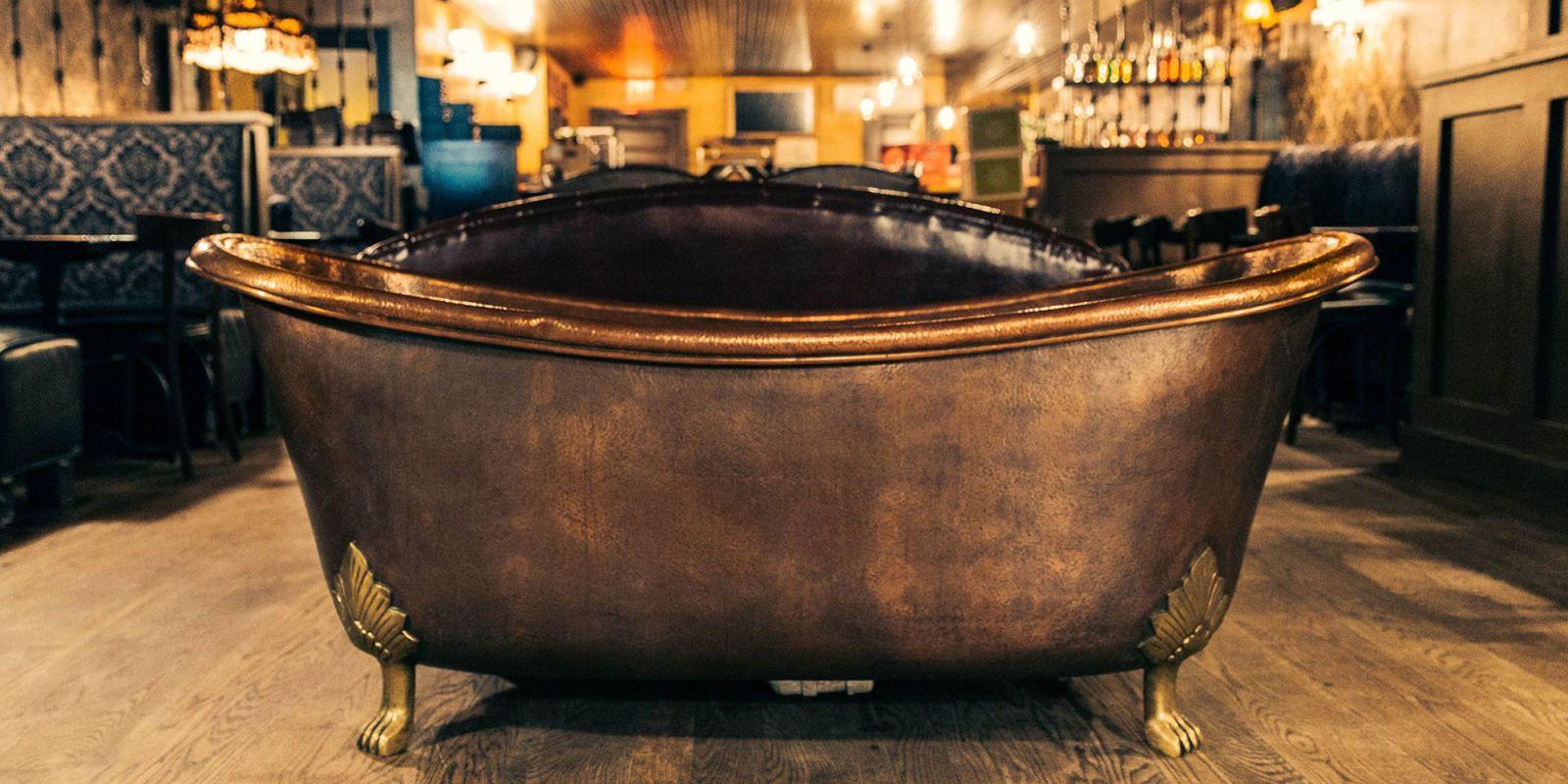 NYC Speakeasies. Bathtub Gin
