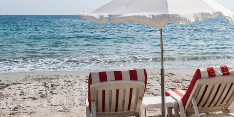 Tahiti Beach — St. Tropez, France –nude beach