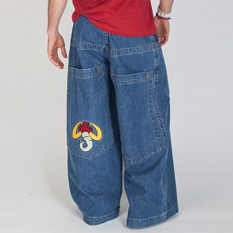 "<p><strong data-redactor-tag=""strong"" data-verified=""redactor""><em data-redactor-tag=""em"" data-verified=""redactor"">$75</em></strong> <a href=""https://www.jncojeans.com/collections/jeans/products/jnco-mammoth-jeans-32"" target=""_blank"" class=""slide-buy--button"" data-tracking-id=""recirc-text-link"">BUY NOW</a><br></p><p>Ah, JNCO jeans — nature's way of telling us who listens to Insane Clown Posse while surfing Juggalo message boards online.</p><p><strong data-redactor-tag=""strong"" data-verified=""redactor"">More:</strong> <a href=""http://www.bestproducts.com/fashion/g1105/90s-fashion-trends/"" target=""_blank"" data-tracking-id=""recirc-text-link"">'90s Fashion Trends That Work in 2017</a></p>"