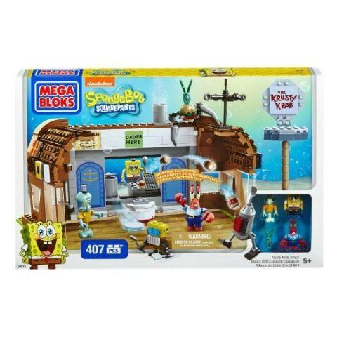 SpongeBob Krusty Krab Legos