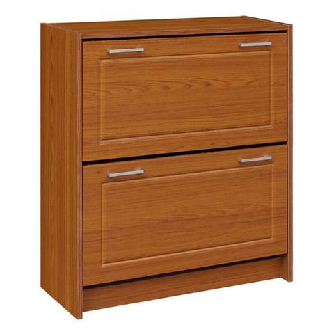 4D Concepts Fruitwood Double Shoe Cabinet