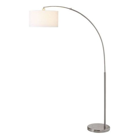 11 best arch floor lamps in 2018 contemporary unique arc floor cb2 big dipper arc brushed nickel floor lamp aloadofball Image collections