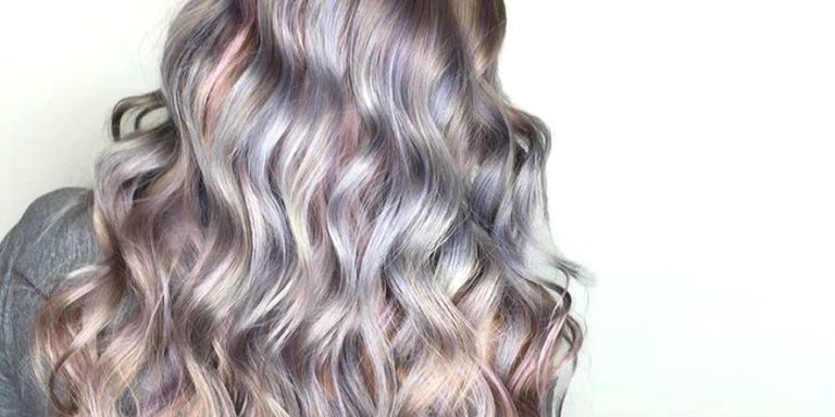 Mother-of-Pearl Hair Is the Prettiest Low-Key Unicorn