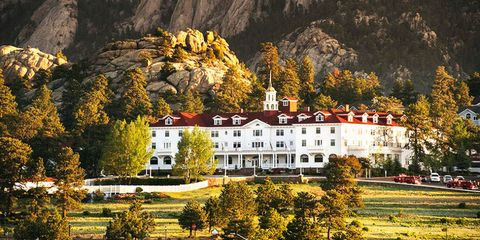 The Stanley Hotel - haunted hotels