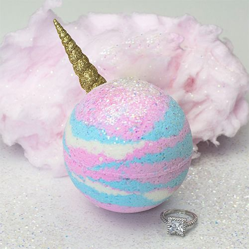 Pearl Bath Bombs Unicorn Ring Bath Bomb