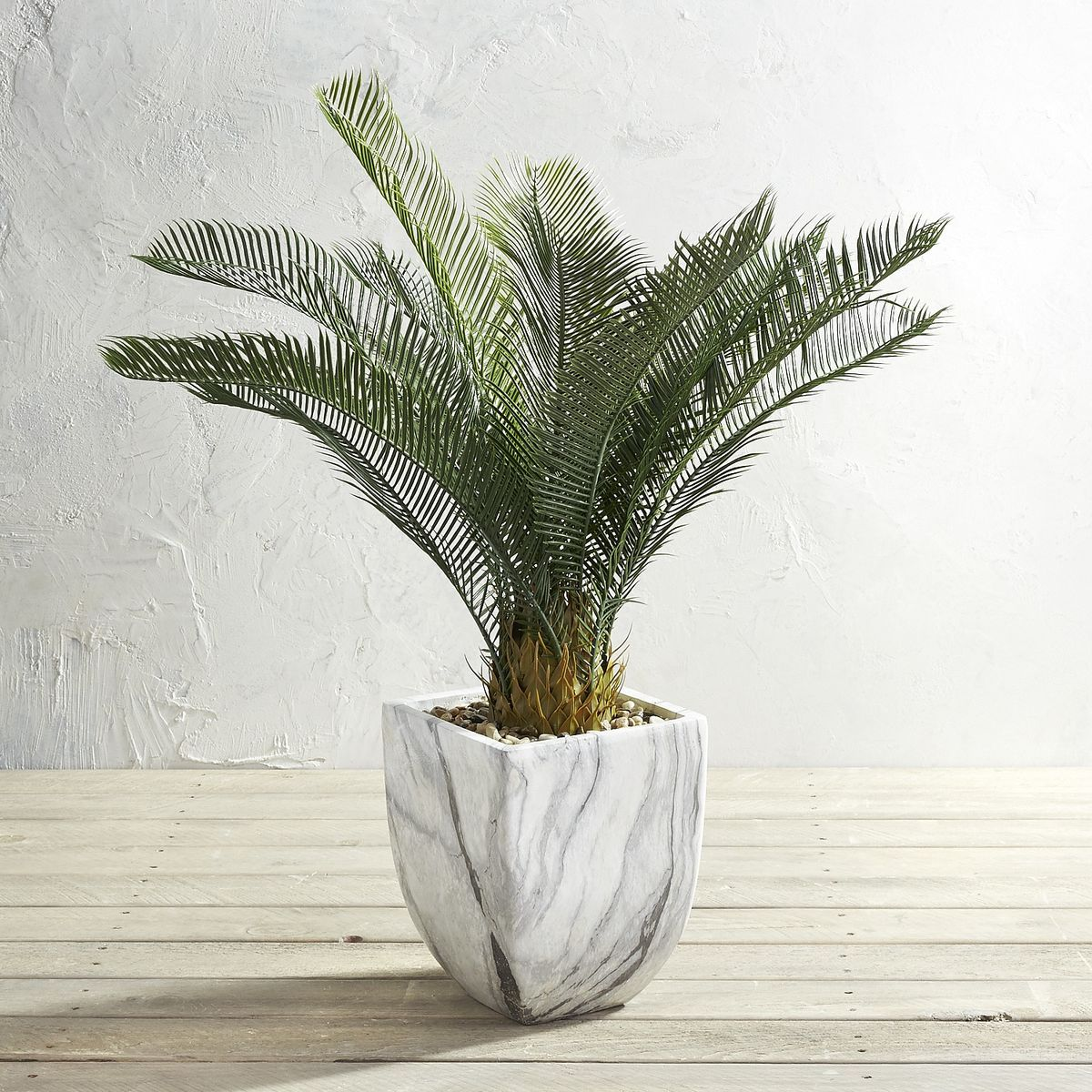 "Pier 1 Imports Outdoor Potted 38"" Faux Cycas"