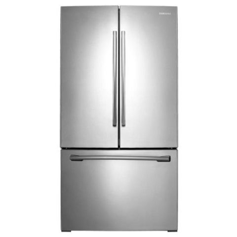 Samsung RF261BEAESR French Door Refrigerator with Internal Water Dispenser