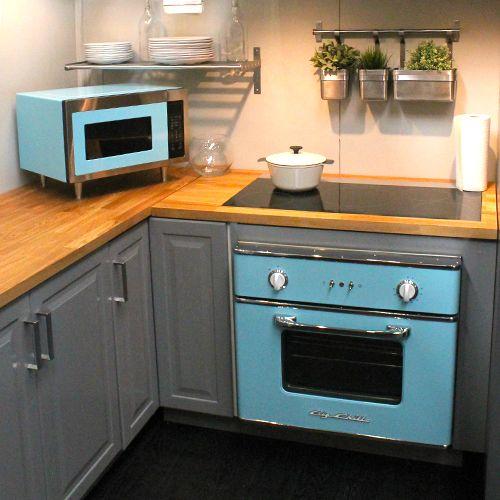 Genial Retro Kitchen Appliances. Big Chill Microwave