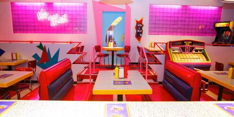 Saved By The Max - Saved By The Bell Pop Up Shop Diner & Bar