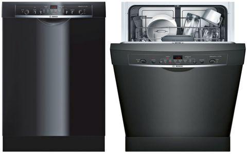 Best Bosch Dishwasher 2017 24 Recessed Handle Ascenta In Black She3ar76uc