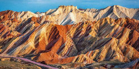 Rainbow Mountains — China
