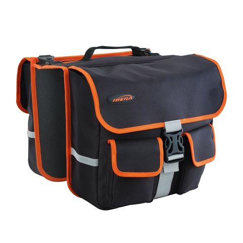 Ibera 2-in-1 Bike Panniers and Messenger Bag