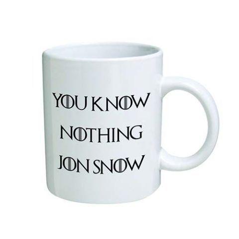 You Know Nothing Jon Snow Mug