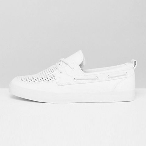 "<p><strong data-redactor-tag=""strong"" data-verified=""redactor""><em data-redactor-tag=""em"" data-verified=""redactor"">$45</em></strong> <a href=""http://us.asos.com/asos/asos-boat-shoes-in-white-with-perforated-detail/prd/7433430?iid=7433430&amp;clr=White&amp;SearchQuery=boat%20shoes&amp;pgesize=36&amp;pge=0&amp;totalstyles=119&amp;gridsize=3&amp;gridrow=3&amp;gridcolumn=2"" target=""_blank"" class=""slide-buy--button"" data-tracking-id=""recirc-text-link"">BUY NOW</a></p><p>These&nbsp;shoes are white-hot for summer! ASOS' white boat shoes will freshen up any of your summer outfits, while the perforated top will keep your feet chill AF. At this affordable price, you won't mind scuffing up these bad boys during your summer adventures.</p><p><strong data-redactor-tag=""strong"" data-verified=""redactor"">More:&nbsp;</strong><a href=""http://www.bestproducts.com/mens-style/g1914/top-white-sneakers-for-men/"" target=""_blank"" data-tracking-id=""recirc-text-link"">Keep It Fresh in These Men's White Sneakers</a><br></p>"