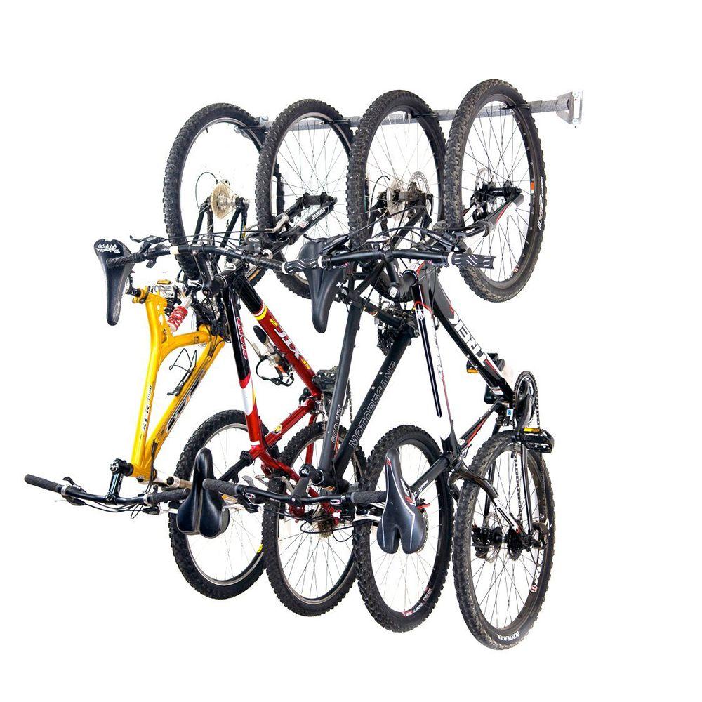 Monkey Bars Bike Storage Rack, Stores 4 Bikes