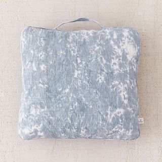 Urban Outfitters Carrie Bleach-Dyed Floor Pillow