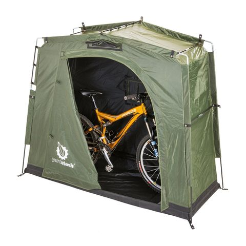 The YardStash III Outdoor Bike Storage Tent