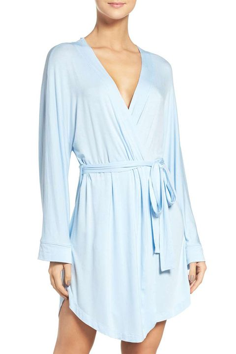 honeydew blue robe