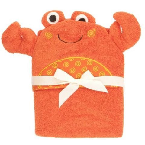Zoocchini Charlie the Crab Hooded Towel