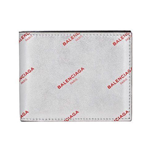 Balenciaga Logo Slim Square Wallet