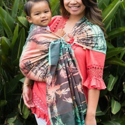 Seaside Miami Baby Tula Ring Sling