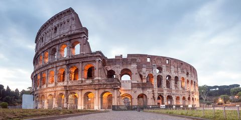 Roman Colosseum — Rome
