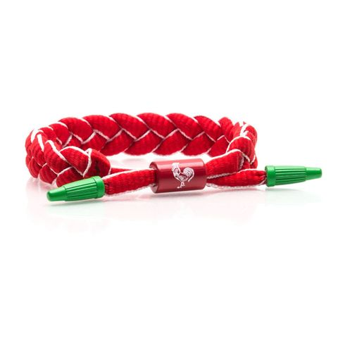 Red, Fashion accessory, Rope,