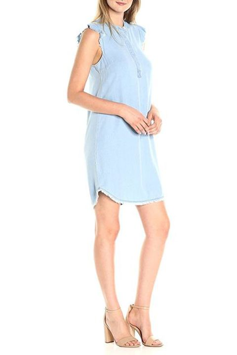 splendid henley denim dress