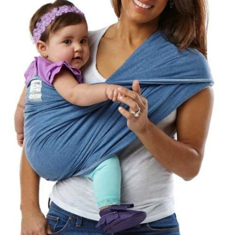 Baby K'tan Denim Baby Wrap