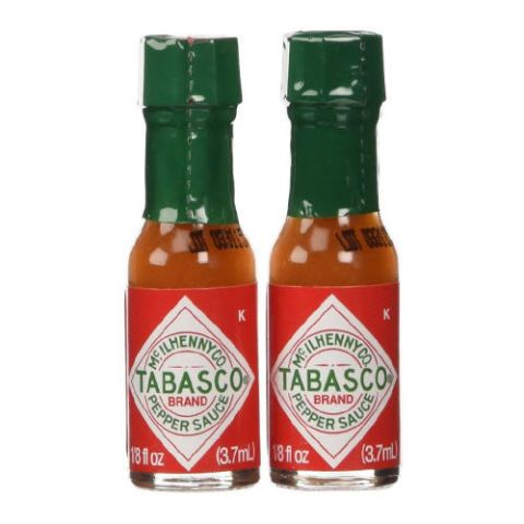 """<p><strong data-redactor-tag=""""strong"""" data-verified=""""redactor""""><em data-redactor-tag=""""em"""" data-verified=""""redactor"""">Mini Tabasco Bottles<br>10-pack, $9</em></strong> <a href=""""https://www.amazon.com/Tabasco-Pepper-Sauce-Miniature-Size/dp/B00JG8REY2/?tag=bp_links-20"""" target=""""_blank"""" class=""""slide-buy--button"""" data-tracking-id=""""recirc-text-link"""">BUY NOW</a></p><p>The heat from chilis can stimulate production of endorphins, which contributes to your libido, and&nbsp&#x3B;they can also increase sweat production and heart rate, which can in turn improve blood flow for greater sensitivity ~down there~&nbsp&#x3B;. Just don't go overboard — too much spice can give you a stomachache!&nbsp&#x3B;</p>"""