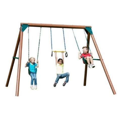 Swing-N-Slide Orbiter Wood Swing Set