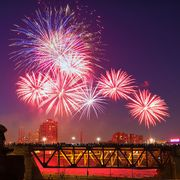 fireworks across the US