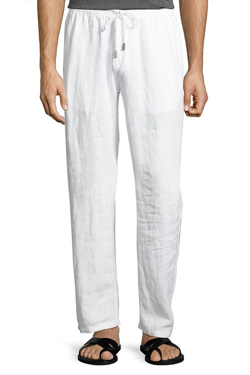 c03bd83f2a 8 Best White Pants for Men in 2018 - Stylish Men's White Jeans & Trousers