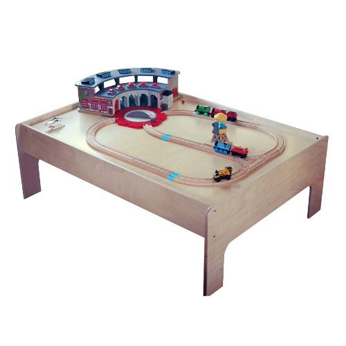 9 Best Train Tables for Kids 2018 - Wooden Train Tables and Sets