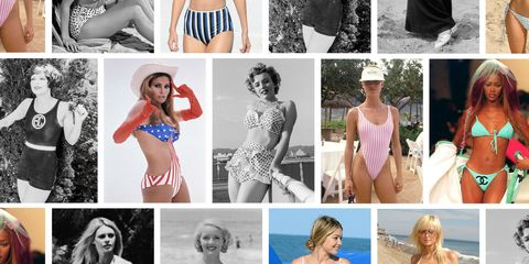 b832b383f2 100 Best Bathing Suits Inspired by Every Decade - Shop '20s & '50s ...