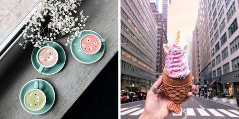 Ice cream, Soft Serve Ice Creams, Gelato, Frozen dessert, Ice cream cone, Pink, Food, Dairy, Dessert, Bake sale,