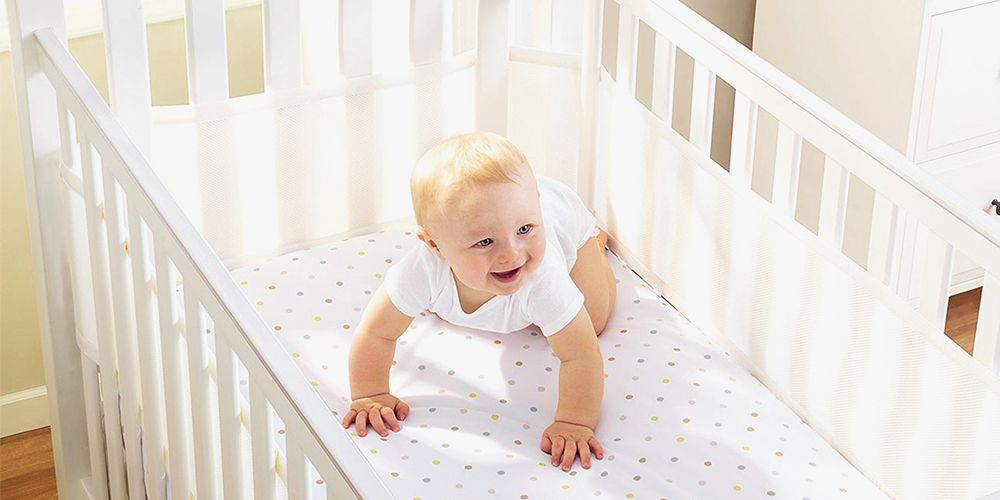 8f4f0e9ce 9 Safe Crib Bumper Alternatives for 2018 - Best Mesh Crib Liners ...