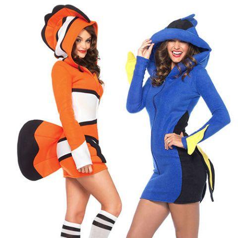 finding nemo halloween costumes  sc 1 st  BestProducts.com & 17 Best Couples Costumes for Halloween 2018 - Couples Halloween ...