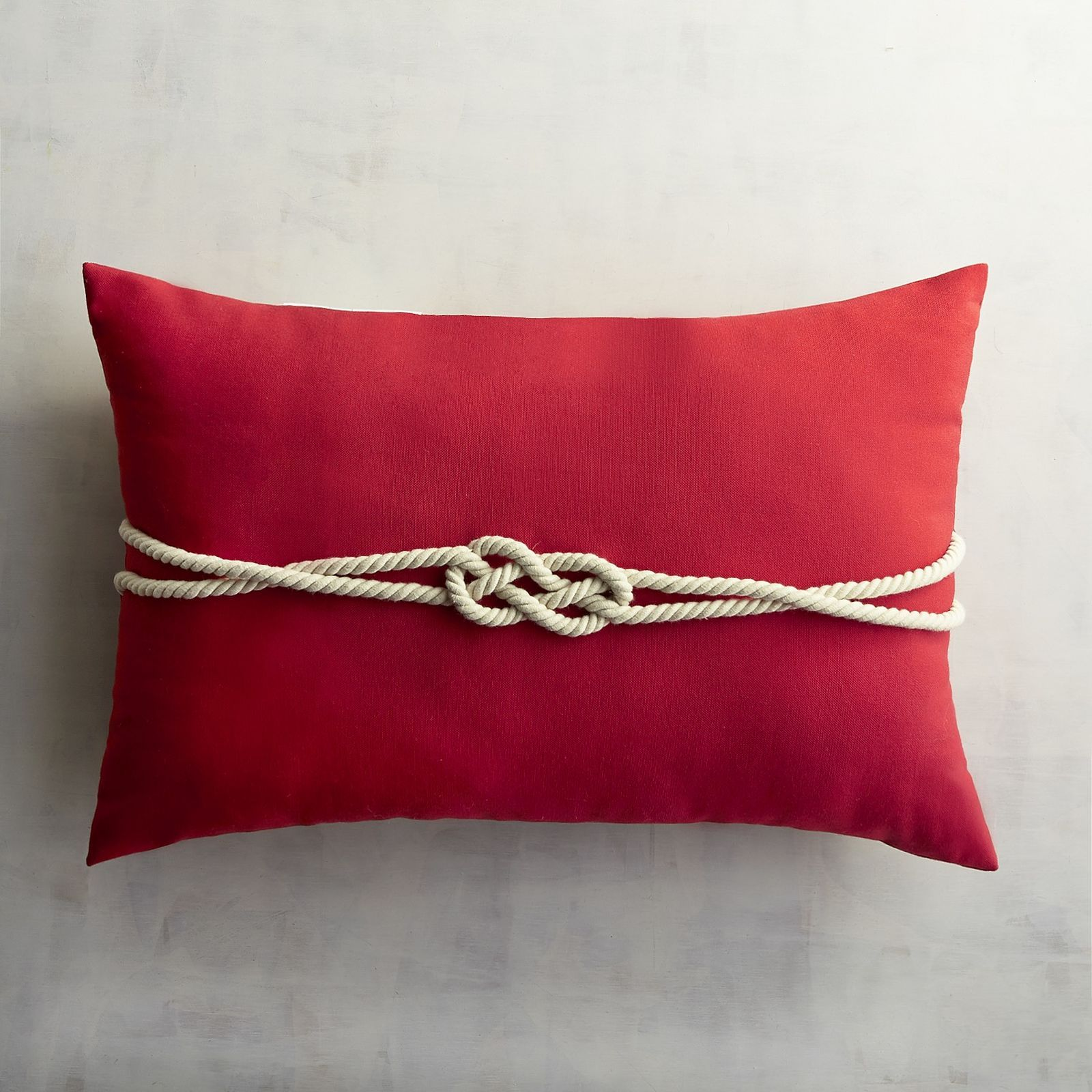 Pier 1 Imports Tomato Rope Lumbar Pillow