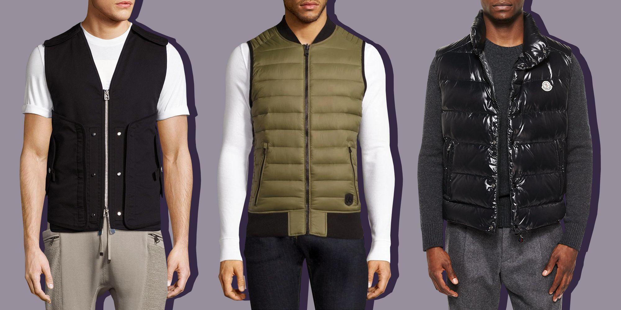8 Best Men's Vests for Fall 2018 - Shell, Puffer, and Fleece Vests for Men