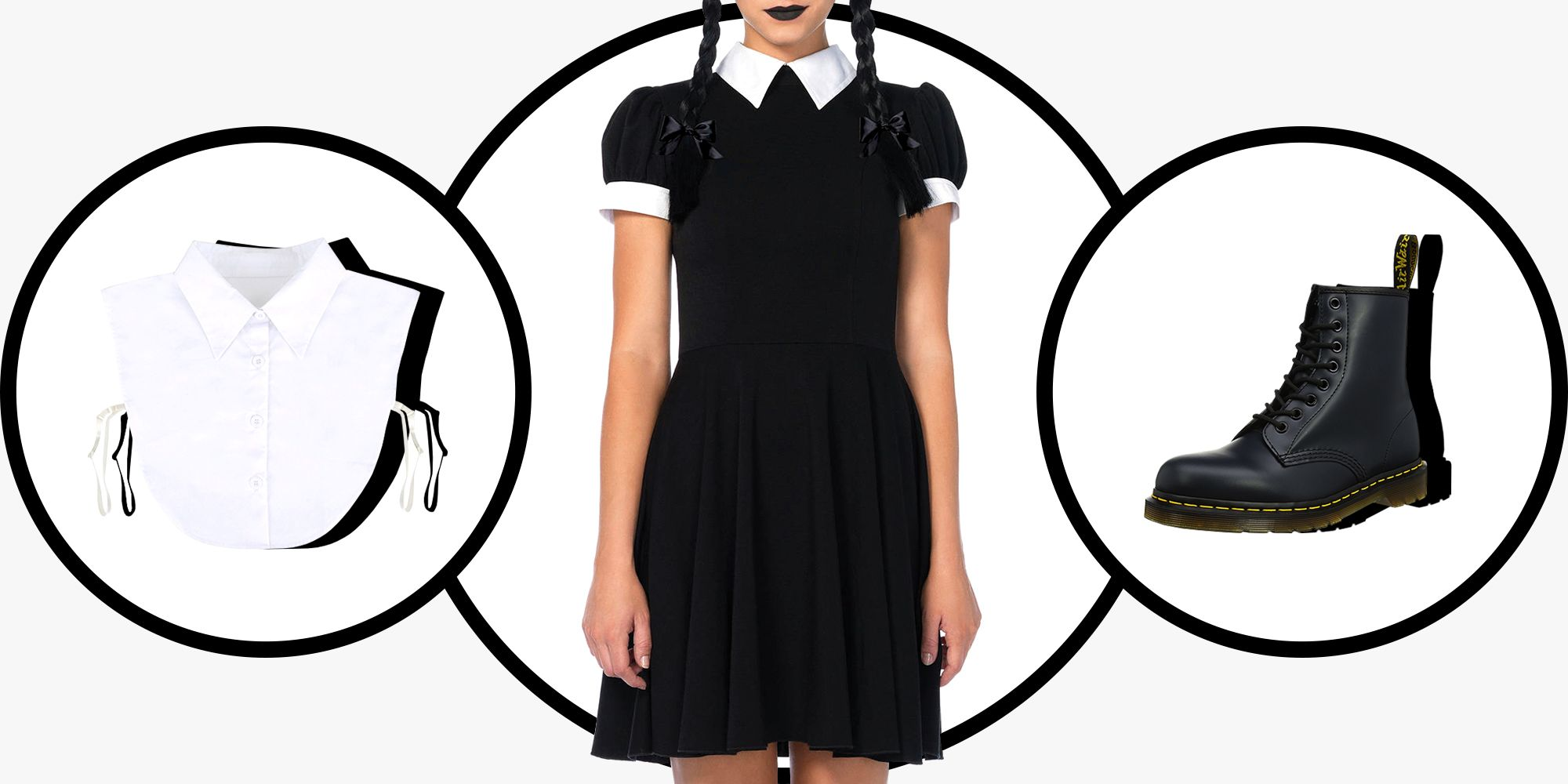 c243cfaa40 14 Best Wednesday Addams Costume Ideas for 2018 - Wednesday Addams Dresses    Outfits