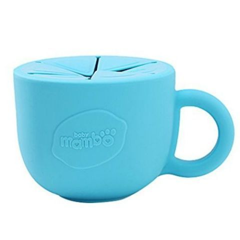 Baby Mambo Blue Silicone Snack Cup